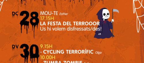 LA FESTA DEL TERROR!