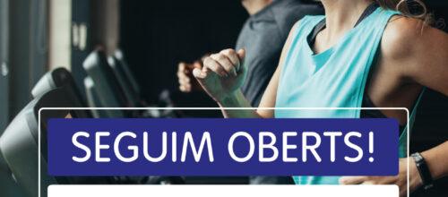 SEGUIM OBERTS!